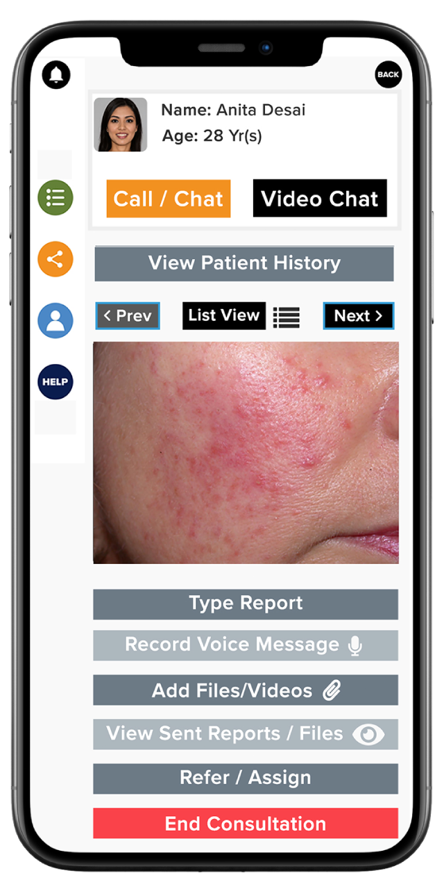 XpertOnline Doctor's App Consultation Features