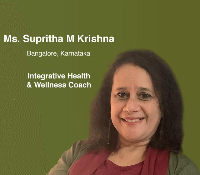 Ms. Supritha M Krishna